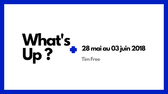 What'sup 28 mai 03 juin SAP ERP ORACLE MICROSOFT APPLE