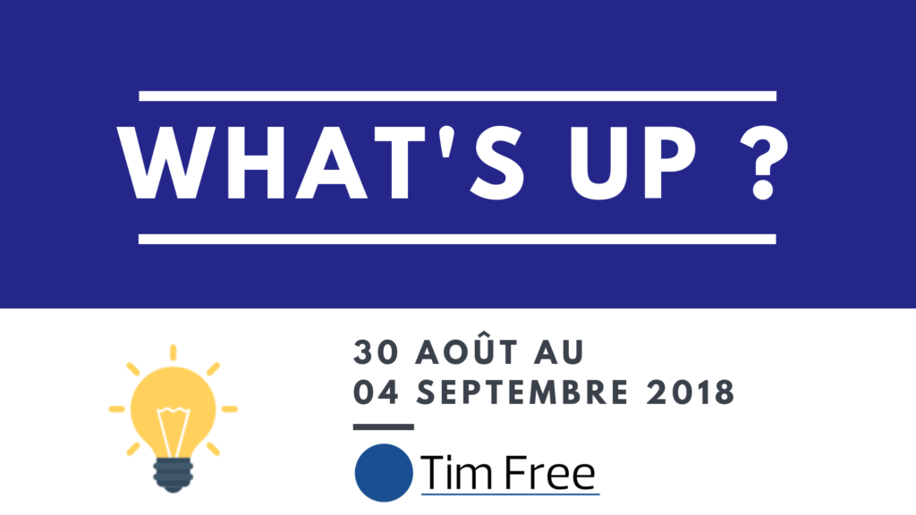 What's up ? Timfree - Consultant freelance