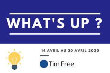 WhatsUp – 30 AVRIL 2020
