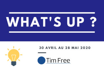 WhatsUp – 28 mai AVRIL 2020